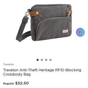 Travelon Anti-Theft Heritage RFID-Blocking Crossbo